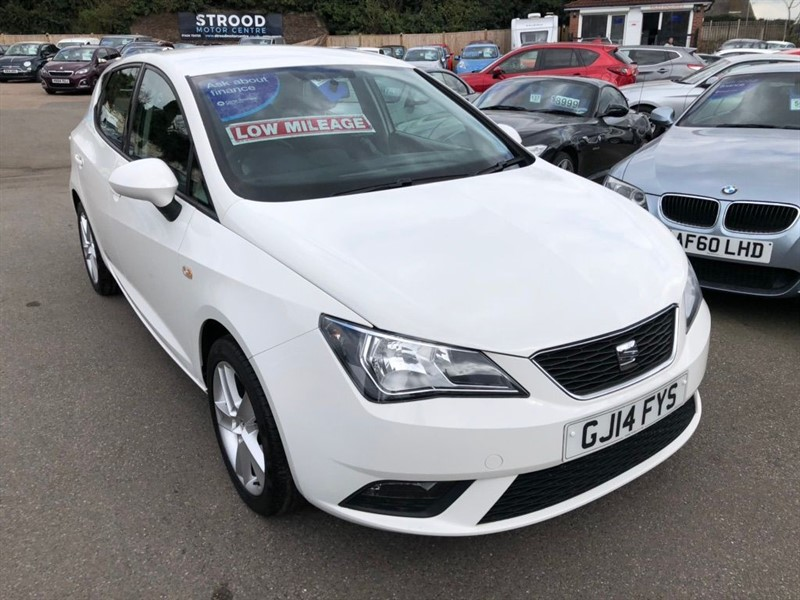 used SEAT Ibiza 16v Toca in rochester-kent
