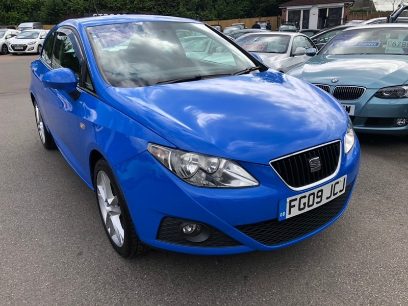 used SEAT Ibiza 16v Sport SportCoupe 3dr in rochester-kent