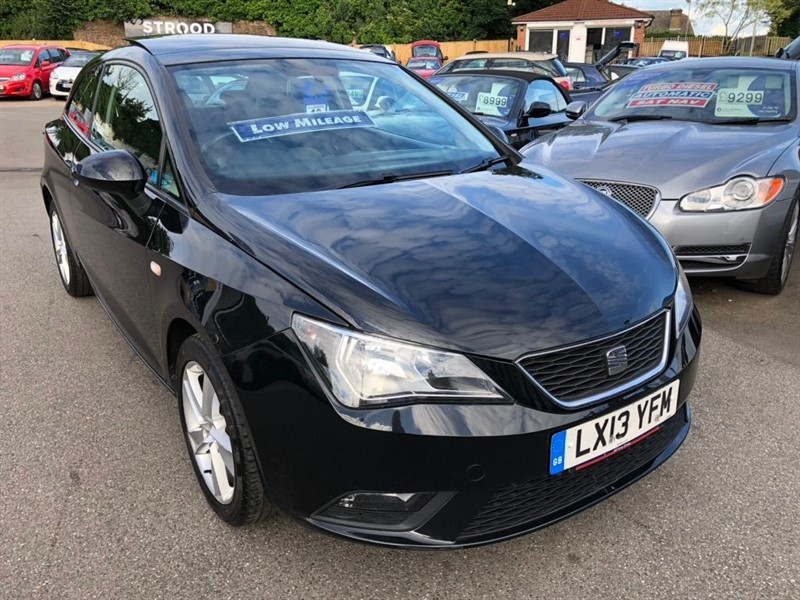 used SEAT Ibiza Toca SportCoupe 3dr in rochester-kent