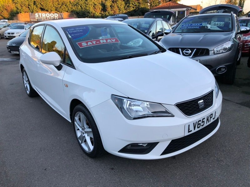 used SEAT Ibiza 16v Toca 5dr in rochester-kent