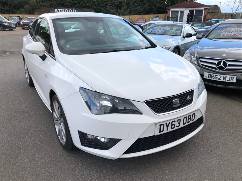 used SEAT Ibiza TSI FR SportCoupe 3dr in rochester-kent