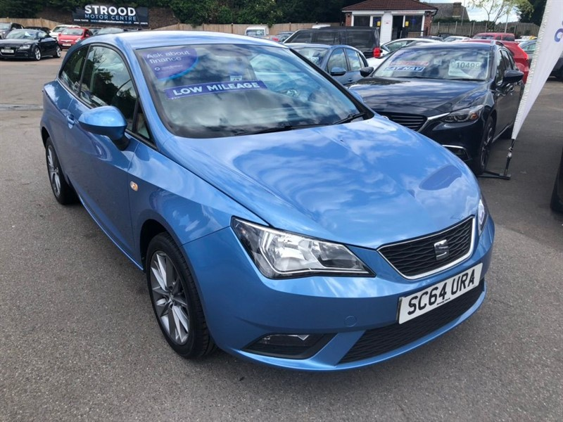used SEAT Ibiza I-TECH SportCoupe in rochester-kent