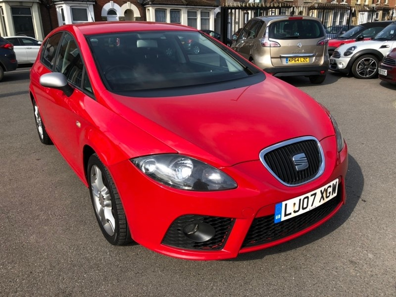 used SEAT Leon TDI DPF FR 5dr in rochester-kent