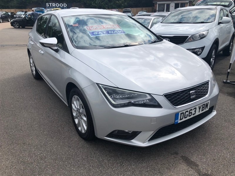 used SEAT Leon TDI SE (Tech Pack) (s/s) 5dr in rochester-kent