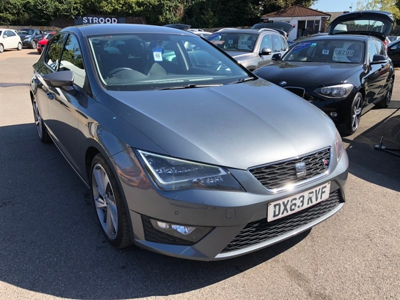 used SEAT Leon TDI FR (Tech Pack) (s/s) 5dr in rochester-kent