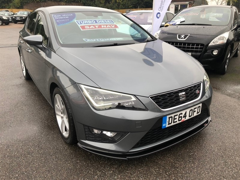 used SEAT Leon TDI CR FR (Tech Pack) DSG (s/s) 5dr in rochester-kent