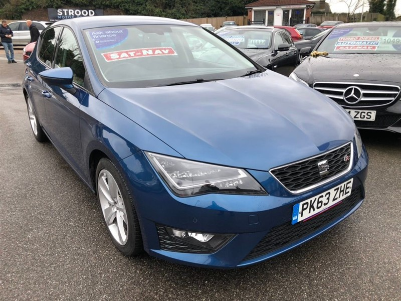 used SEAT Leon FR (Tech Pack) (s/s) in rochester-kent