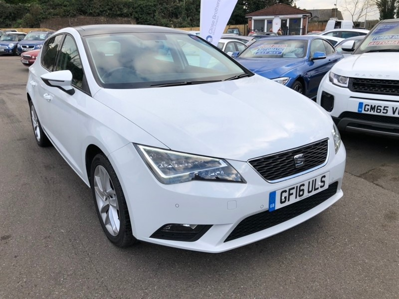 used SEAT Leon TSI SE (Tech Pack) DSG (s/s) 5dr in rochester-kent