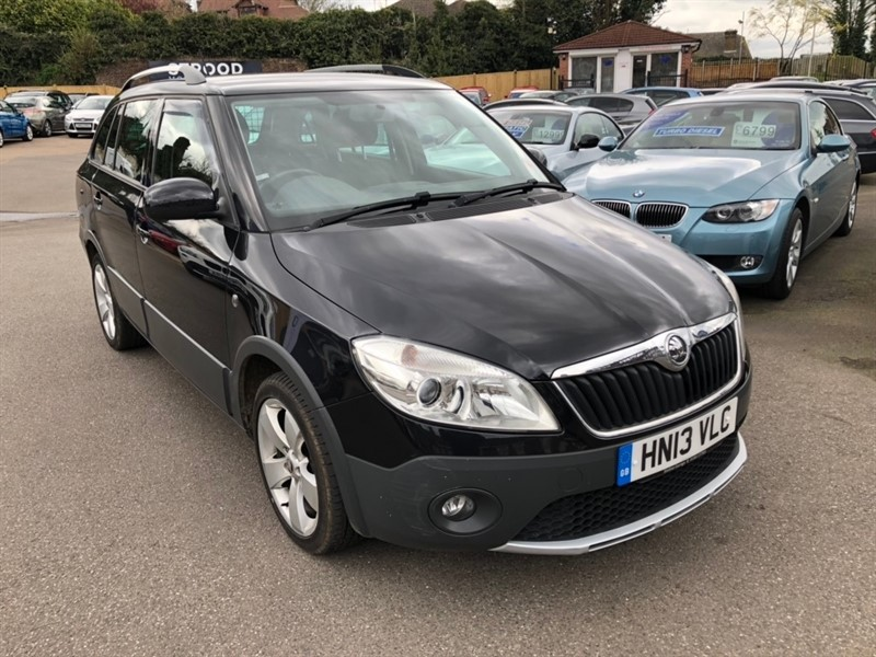 used Skoda Fabia TDI Scout 5dr in rochester-kent