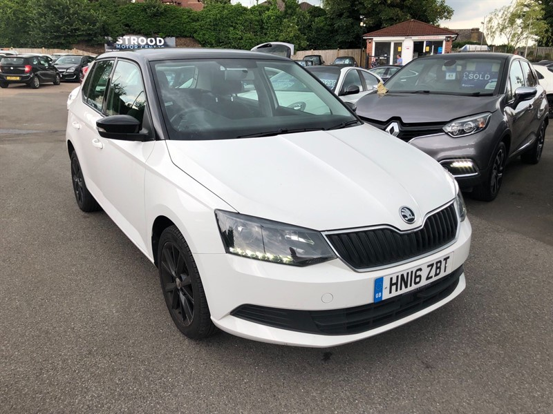 used Skoda Fabia Colour Edition (s/s) in rochester-kent