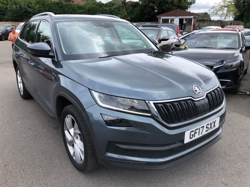 used Skoda Kodiaq Edition DSG 4WD (s/s) (7 Seat) in rochester-kent