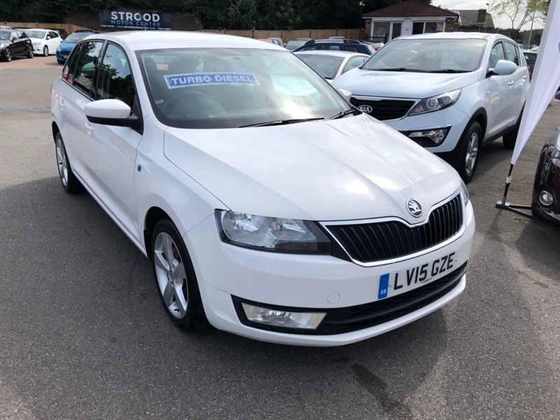 used Skoda Rapid Spaceback TDI CR SE Tech 5dr in rochester-kent