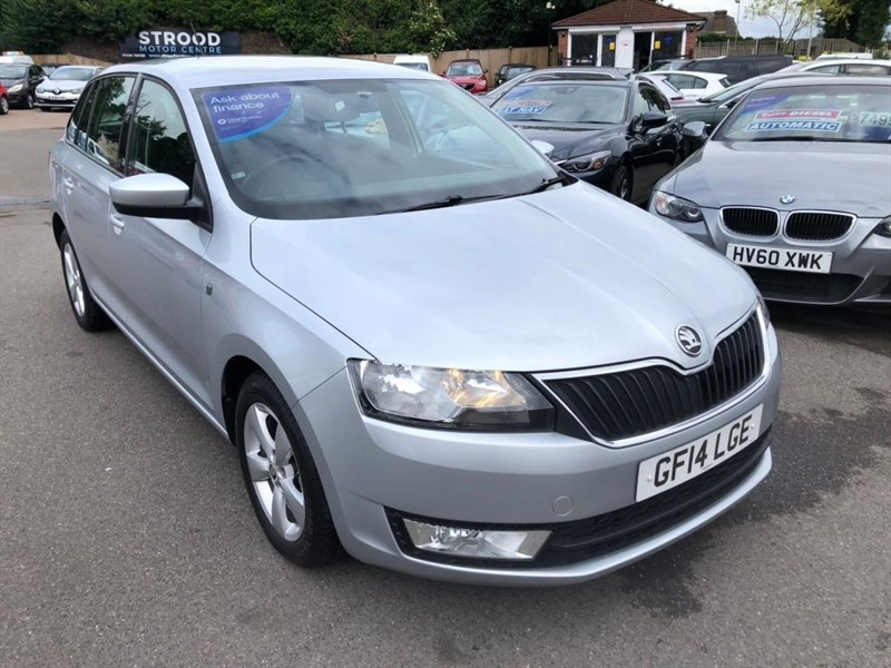 used Skoda Rapid Spaceback SE Spaceback in rochester-kent