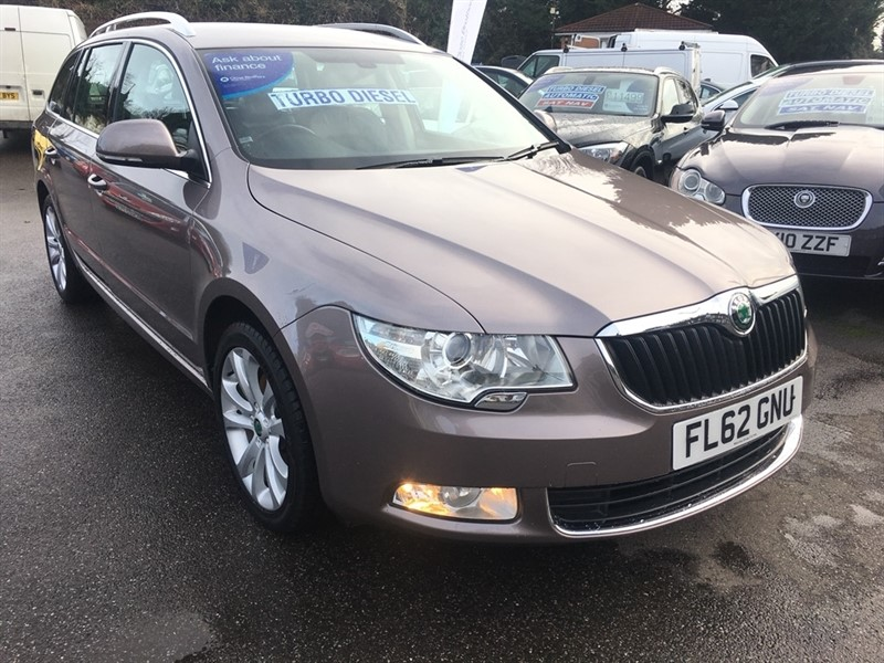 used Skoda Superb TDI CR DPF SE 5dr in rochester-kent