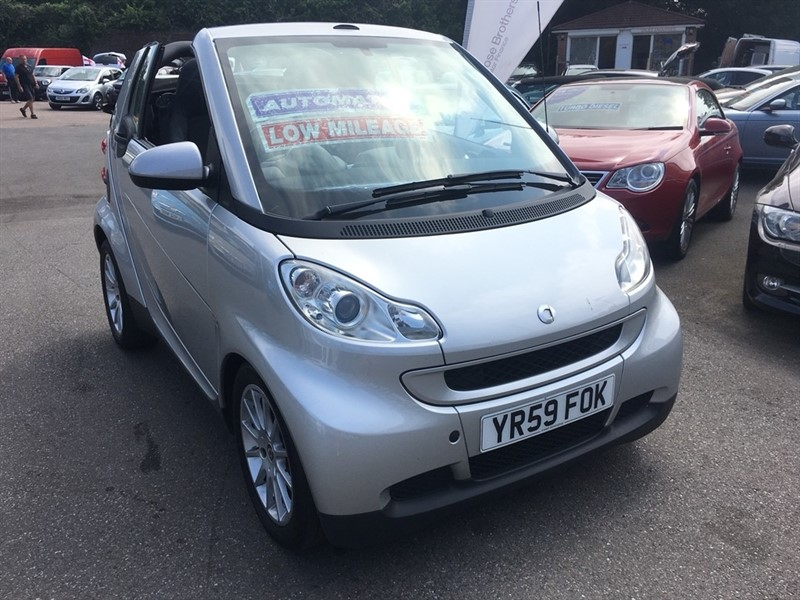 used Smart Car Fortwo MHD Passion Cabriolet 2dr in rochester-kent