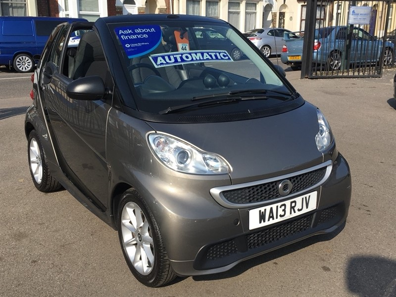 used Smart Car Fortwo MHD Passion Cabriolet Softouch 2dr in rochester-kent