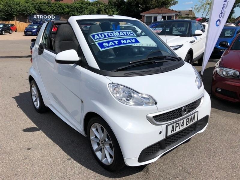 used Smart Car Fortwo Turbo Passion Cabriolet Softouch 2dr in rochester-kent