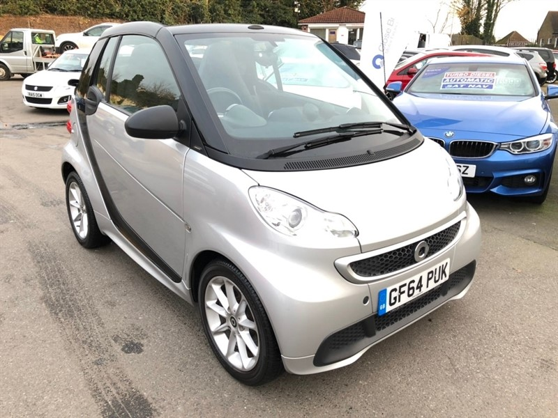 used Smart Car Fortwo MHD Pulse Cabriolet Softouch 2dr in rochester-kent