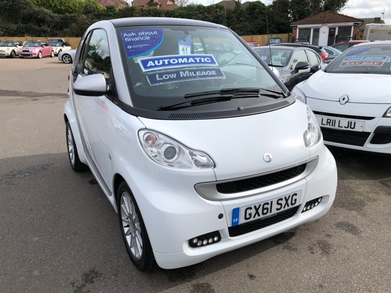 used Smart Car Fortwo MHD Passion Softouch 2dr in rochester-kent