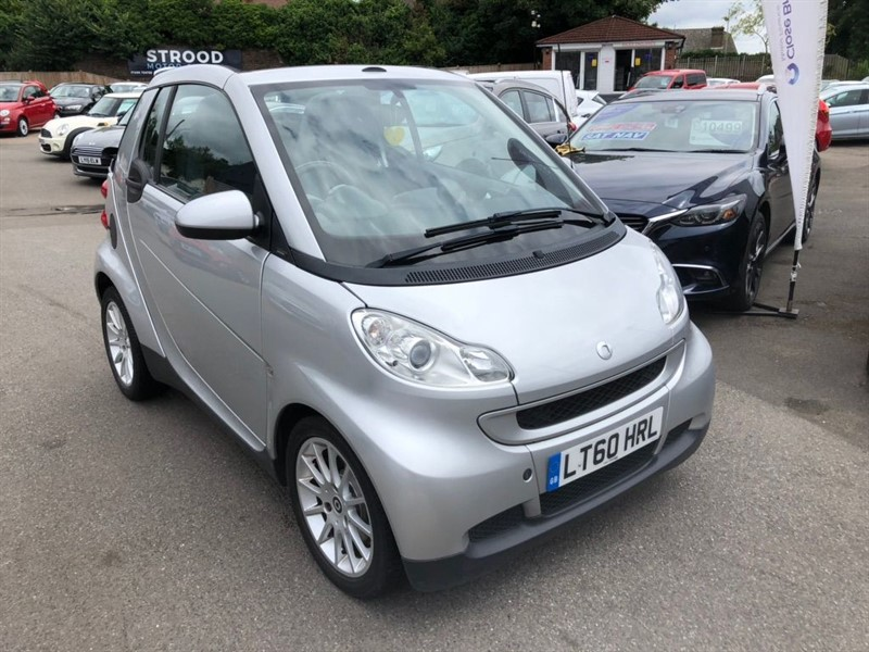 used Smart Car Passion MHD Cabriolet in rochester-kent