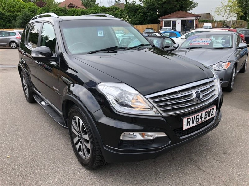 used Ssangyong Rexton TD EX T-Tronic 4x4 5dr in rochester-kent