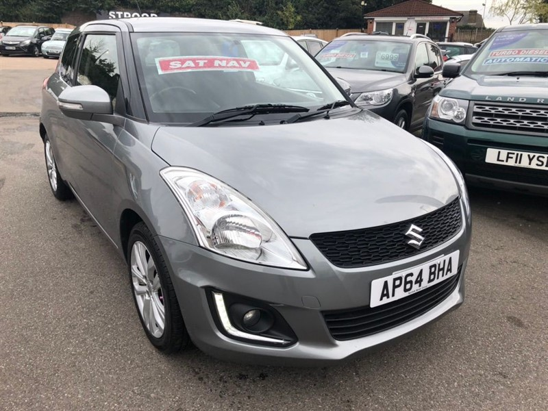 used Suzuki Swift 1.2 SZ4 3dr in rochester-kent