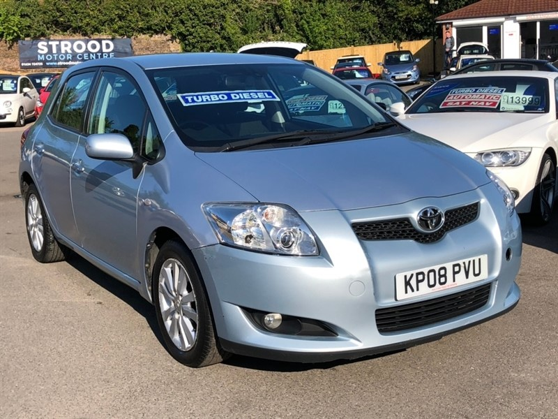 used Toyota Auris D-4D T Spirit 5dr in rochester-kent