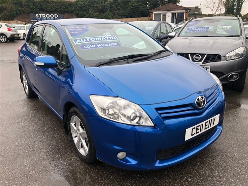 used Toyota Auris TR 5dr in rochester-kent