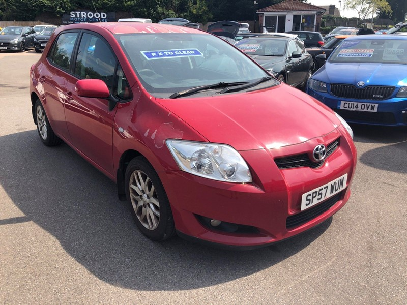 used Toyota Auris TR in rochester-kent