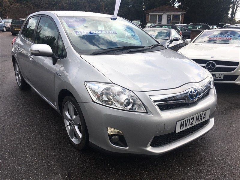 used Toyota Auris T Spirit 5dr in rochester-kent
