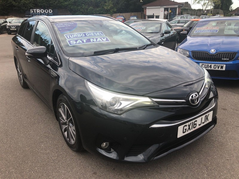 used Toyota Avensis D-4D Business Edition Plus Touring Sports (s/s) in rochester-kent