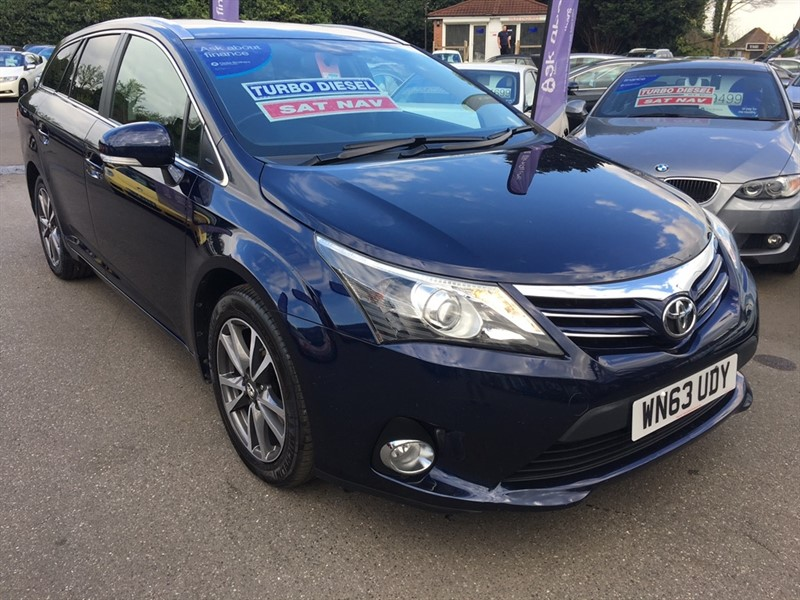 used Toyota Avensis D-4D Icon 5dr in rochester-kent