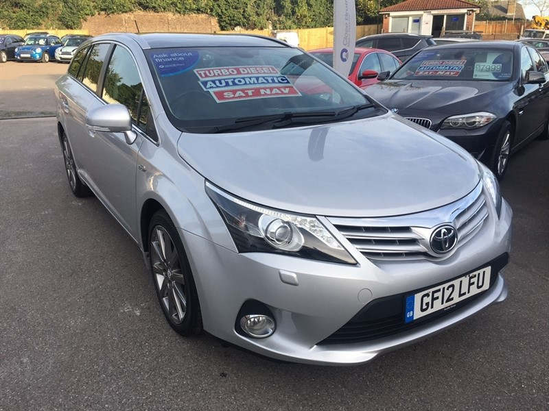used Toyota Avensis D-CAT T Spirit 5dr in rochester-kent