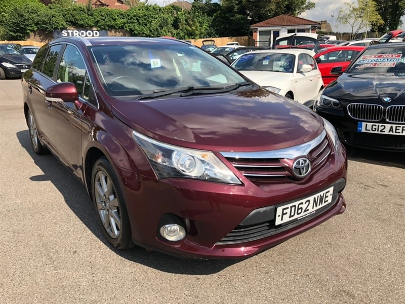 used Toyota Avensis T4 CVT 5dr in rochester-kent