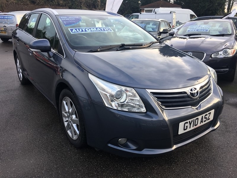 used Toyota Avensis V-Matic TR M-Drive S 5dr in rochester-kent
