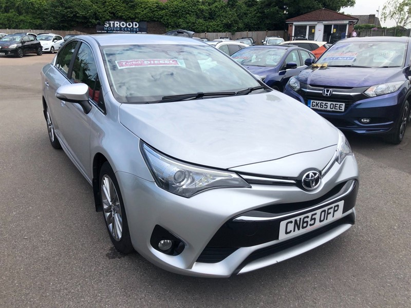 used Toyota Avensis D-4D Business Edition (s/s) in rochester-kent