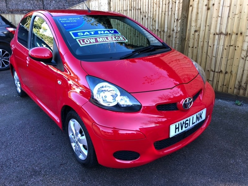 used Toyota Aygo VVT-i GO 5dr in rochester-kent