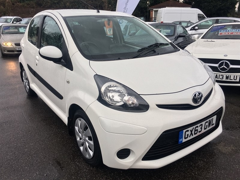 used Toyota Aygo VVT-i Move 5dr in rochester-kent