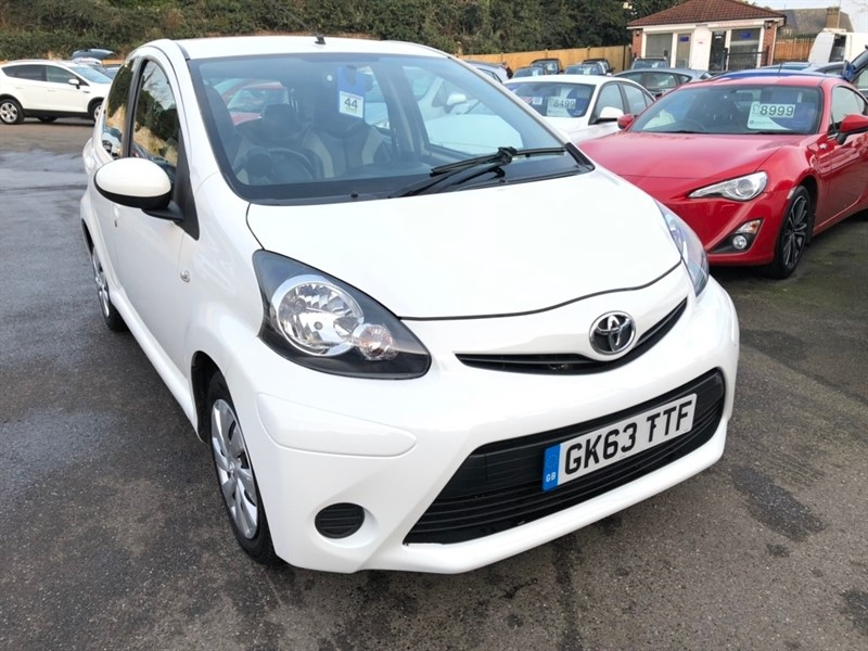 used Toyota Aygo VVT-i Move Multimode 5dr in rochester-kent