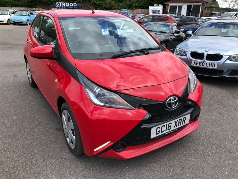 used Toyota Aygo x-play EU5 in rochester-kent