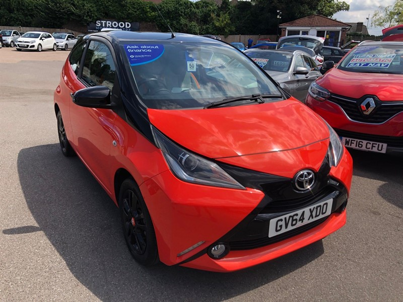 used Toyota Aygo x-cite EU5 in rochester-kent