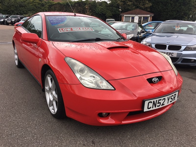 used Toyota Celica VVT-i 3dr in rochester-kent
