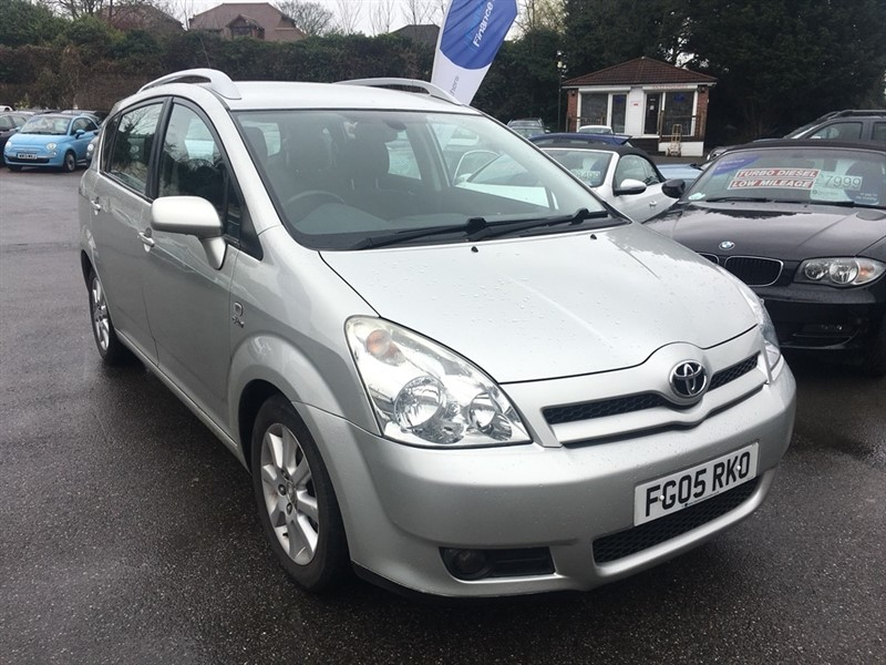 used Toyota Corolla Verso D-4D T Spirit 5dr in rochester-kent