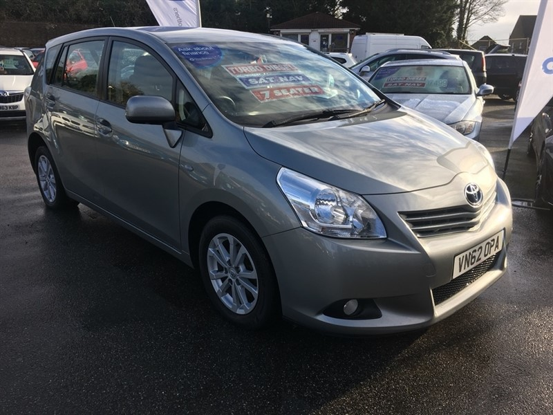 used Toyota Verso D-4D TR 5dr (7 Seat) in rochester-kent
