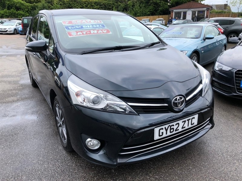 used Toyota Verso D-4D Icon 5dr (7 Seats) in rochester-kent