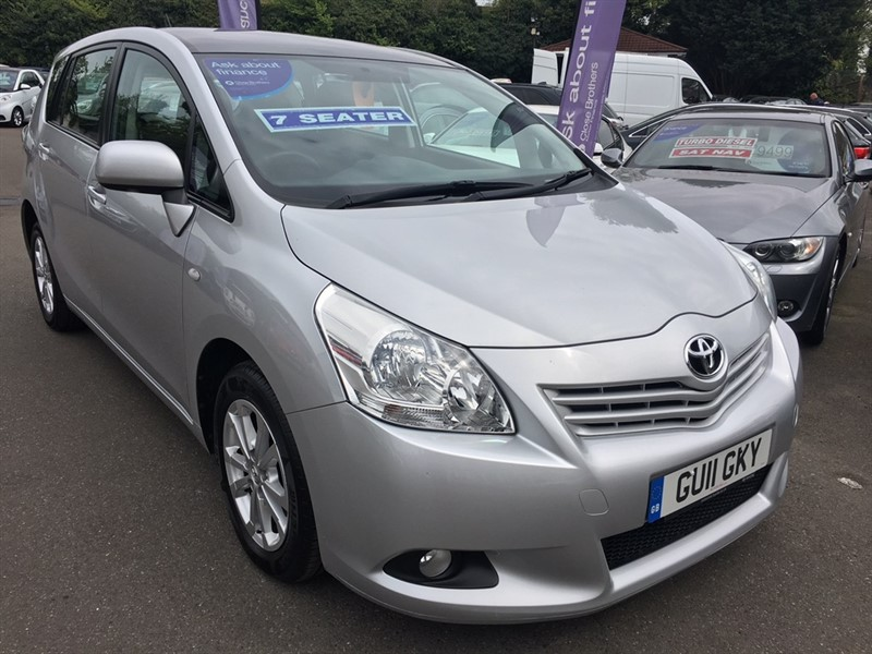 used Toyota Verso V-Matic TR 5dr (7 Seat) in rochester-kent