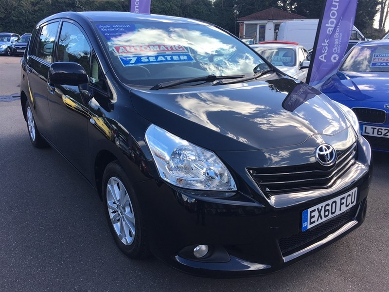 used Toyota Verso V-Matic TR M-Drive S 5dr (7 Seat) in rochester-kent