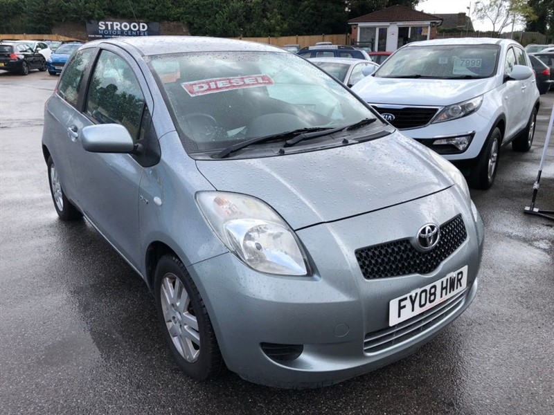 used Toyota Yaris D-4D TR 3dr in rochester-kent