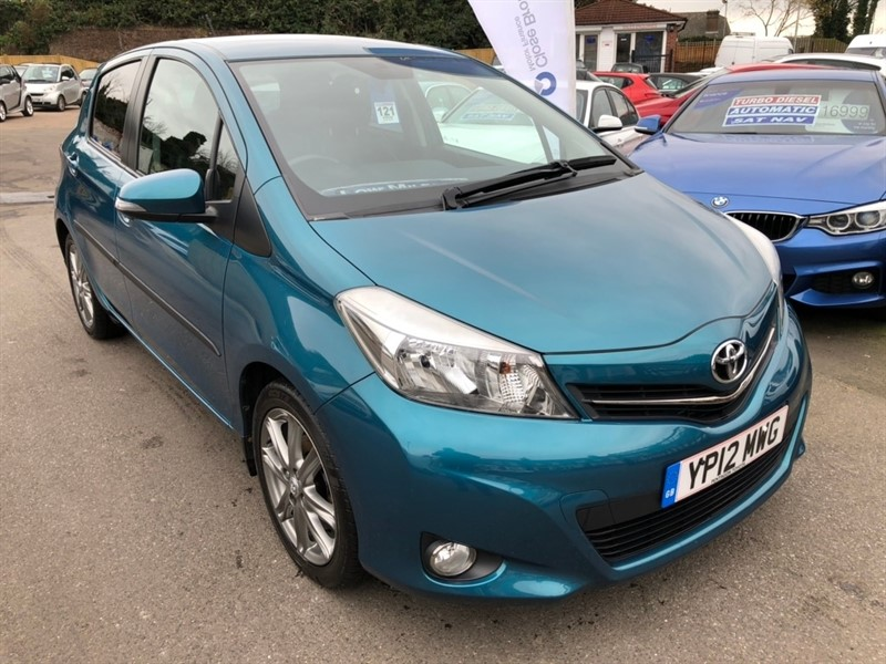 used Toyota Yaris 1.33 VVT-i SR 5dr in rochester-kent