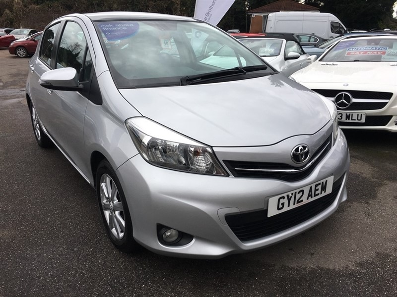 used Toyota Yaris 1.33 VVT-i T Spirit 5dr in rochester-kent